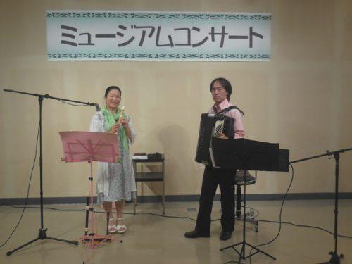 「ミュージアムコンサート」演奏の事 2016.7.17