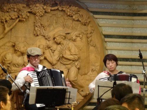 10/1(日)14:00~ 第4回アコーディオン「ユニットコンサート」