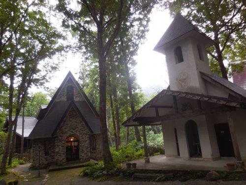 白馬「和田野の森教会」 山岳フォト