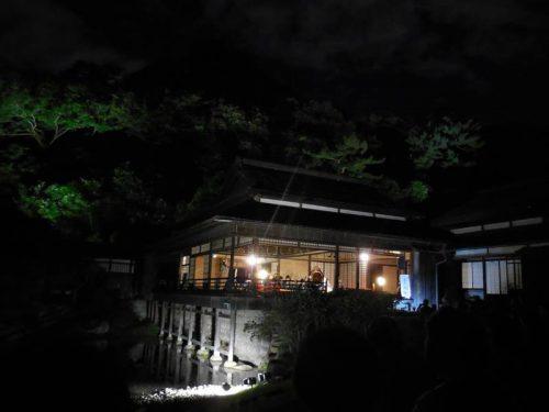 三渓園 観月会 -古建築のライトアップと音楽の演奏-