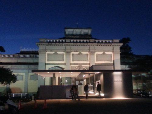 浮見堂と第69回「正倉院展」