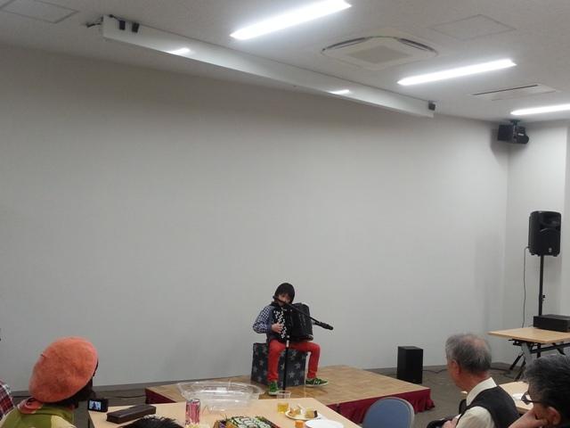 2/22(木)13:00「おきがるタイム」昭和歌謡・アコーディオン