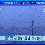 台風21号の爪痕