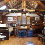 八ヶ岳リードオルガン美術館「八ヶ岳の冬」
