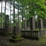 日光 釈迦堂「殉死の墓」「譜代家臣の墓」二十四基