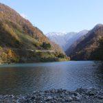 「宇奈月湖」黒部峡谷