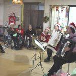 2020年12月13日 地域サービス「クリスマス会」演奏